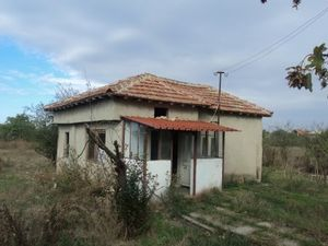 Small rural house with big plot of land located in a big village 15 km away from the Black sea coast
