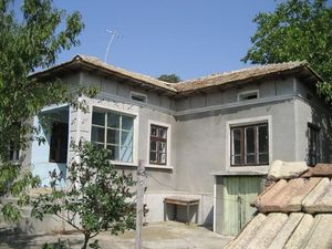 Old house with plot of land located 50 km from the Black sea