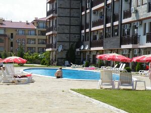 Furnished 1-Bed apartment 200 m from the sea in Sveti Vlas