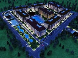 Apartments on Thermal Project in Balikesir