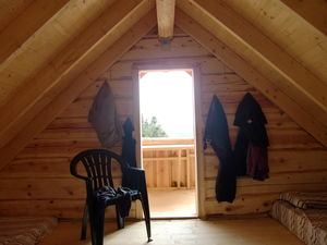 3 bedr 2 bath house 177m2 under construction and Log Cabin