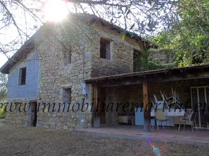 Stone house in the woods of the municipality of Apricale