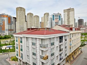 Park view 2+1 apartment for sale in Istanbul