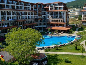 POOL VIEW 1 bedroom apartment with for sale in complex Olimp