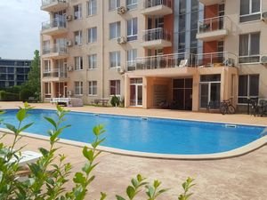 Pool view 1-bedroom apartment in Balkan Breeze 2 Sunny Beach