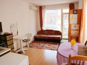 Nice furnished,spacious studio apartment in Sunny Beach
