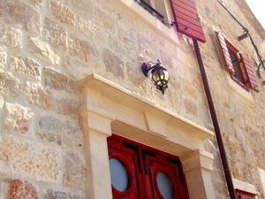 Beautiful stone house in center of town. Maslinica, Dalmatia