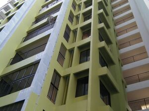 2 BHK (1150 Sq.F) Flat for sale. River front