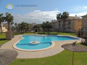 Ground floor apartment 100 meters from the sea
