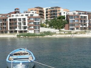 Apartment with 1 bedroom and Frontal Sea View in Akrotiria