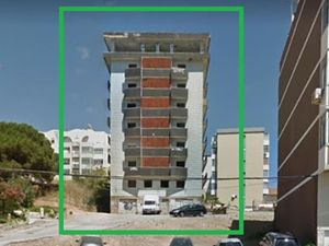 Empty building 2400 m2 with 30 apartments garage balconies 2