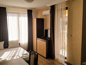 Furnished Studio with balcony in Mistral, Nessebar