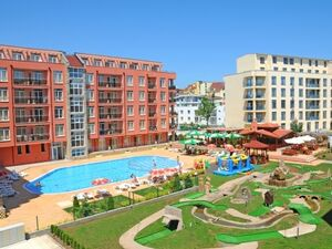 Furnished Studio with balcony in Rainbow 2, Sunny Beach