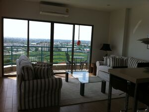 15TH FLR APARTMENT 1BED BALCONY , POOL AND GARDEN VEIW