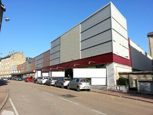 Commercial real estate complex (shopping center)