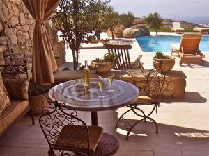 Sunset View  Furnished Villa with Swimming Pool in Mykonos