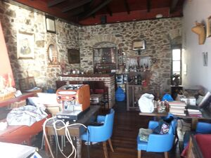 Store for sale by the sea in the picturesque village Limni