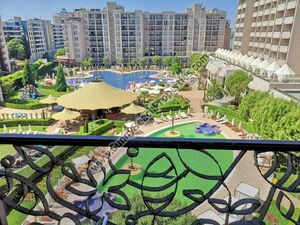 Pool view studio for sale in Royal Beach Barcelo Sunny beach