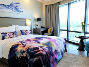 SAVOY MANILA LUXURY QUEEN SUITE FULLY FURNISHED CONDOTEL