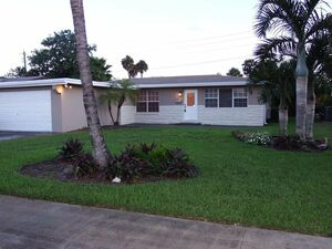 Lovely 3 beds 2 baths house for rent in Wilton Manors