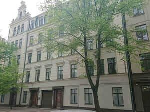 For lease building in center of Riga!