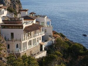 Front Line Villa in Port d'Andratx For Sale