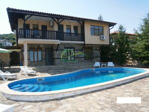 Two-storey villa with sea panorama