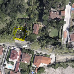 Plot for construction in Galamares, Sintra