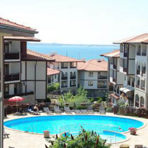 Furnished 1 bedroom apartment in Arena 2, Sveti Vlas