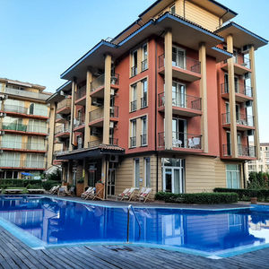 Furnished one-bedroom apartment in Sunny View Central