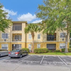 This condo is located next to Metrowest Golf Club