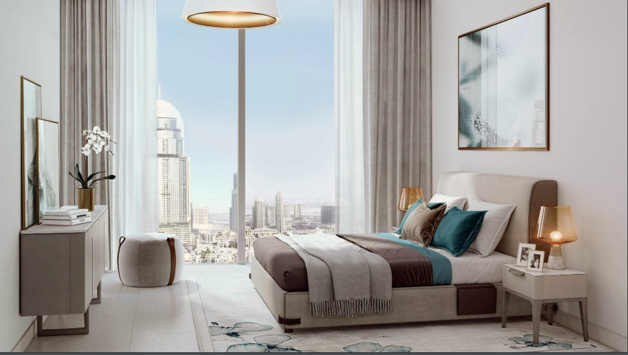 Luxury Apartments With Burj Khalifa View in Dubai For Sale ...